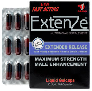Extenze Coupon - Male enhancement pils